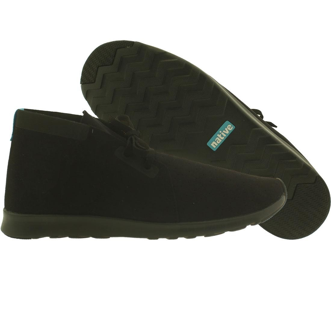 【海外限定】ネイティブ チャッカ 靴 メンズ靴 【 NATIVE MEN APOLLO CHUKKA BLACK JIFFY 】