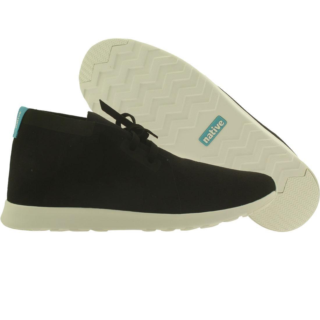 【海外限定】ネイティブ チャッカ シェル 靴 メンズ靴 【 SHELL NATIVE MEN APOLLO CHUKKA BLACK WHITE 】