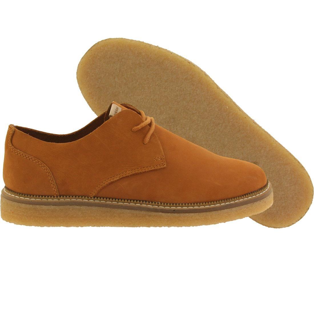 【海外限定】レザー 茶 ブラウン 靴 メンズ靴 【 BROWN POINTER MEN CRAGO UNLINED LEATHER SUDAN LIGHT CREPE 】