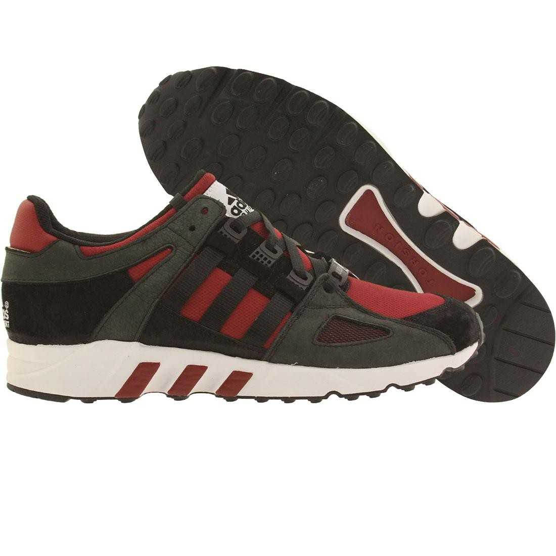 【海外限定】アディダス 靴 スニーカー 【 ADIDAS MEN EQUIPMENT RUNNING GUIDANCE 93 BLACK RUSRED 】