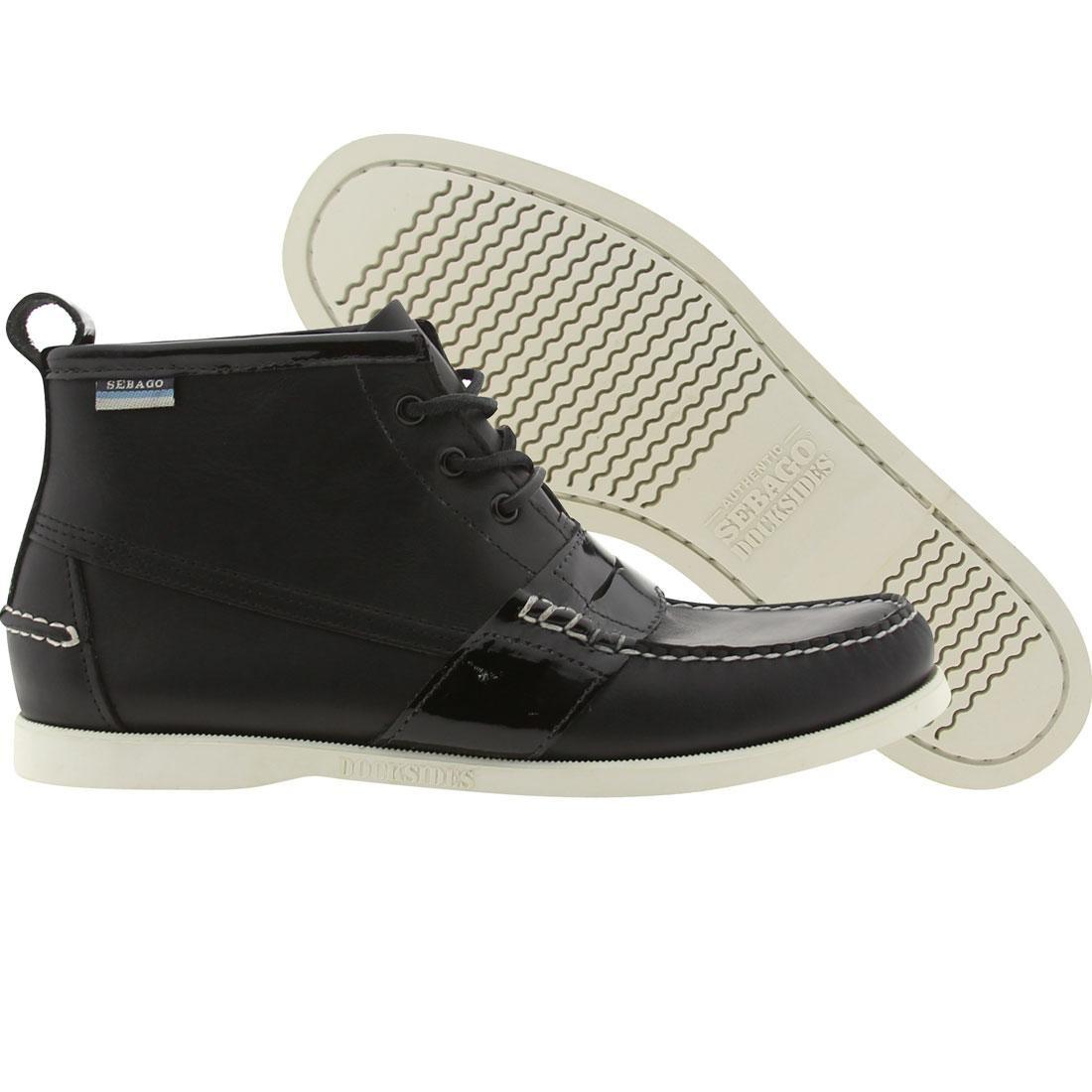 【海外限定】ペニー チャッカ スニーカー 靴 【 SEBAGO PENNY CHUKKA VANE BLACK WHITE 】