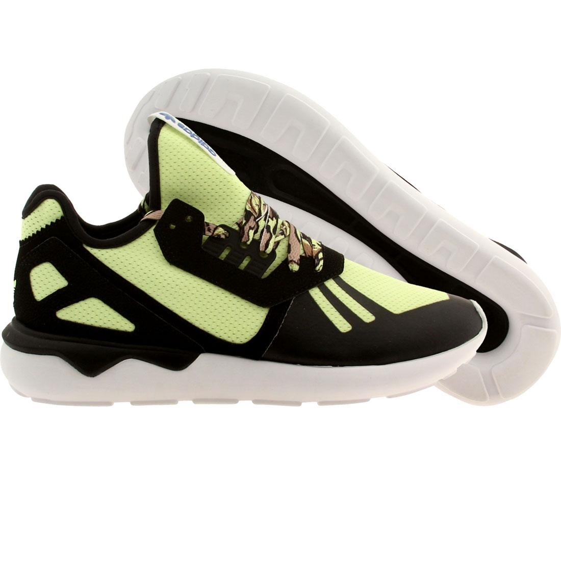 【海外限定】アディダス メンズ靴 靴 【 ADIDAS MEN TUBULAR RUNNER BLACK LTFLYE FTWWHT 】