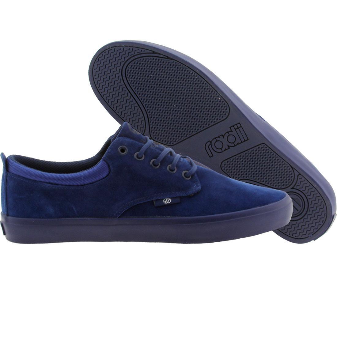【海外限定】ラディアイ 紺 ネイビー 靴 メンズ靴 【 NAVY RADII MEN THE JAX SUEDE 】