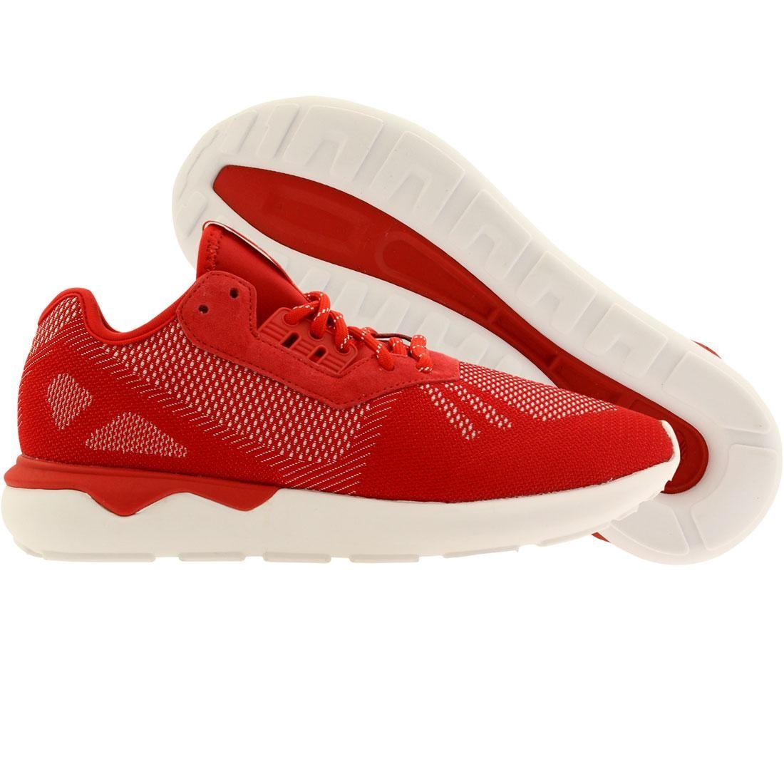 【海外限定】アディダス メンズ靴 スニーカー 【 ADIDAS MEN TUBULAR RUNNER WEAVE RED SCARLET FTWWHT 】