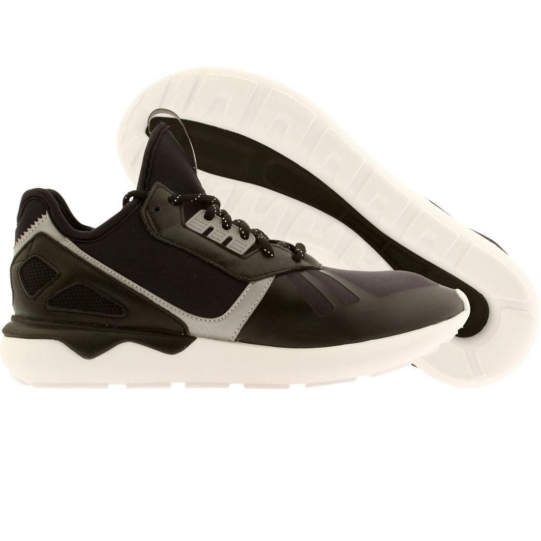【海外限定】アディダス コア 黒 ブラック スニーカー 靴 【 ADIDAS BLACK MEN TUBULAR RUNNER CORE RUNNING WHITE 】