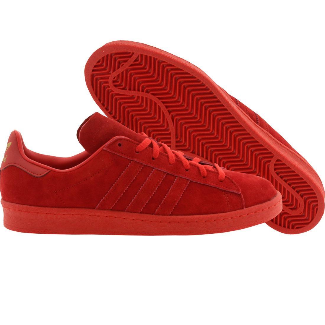 【海外限定】アディダス キャンパス メンズ靴 靴 【 ADIDAS MEN CAMPUS 80S RED COLRED 】