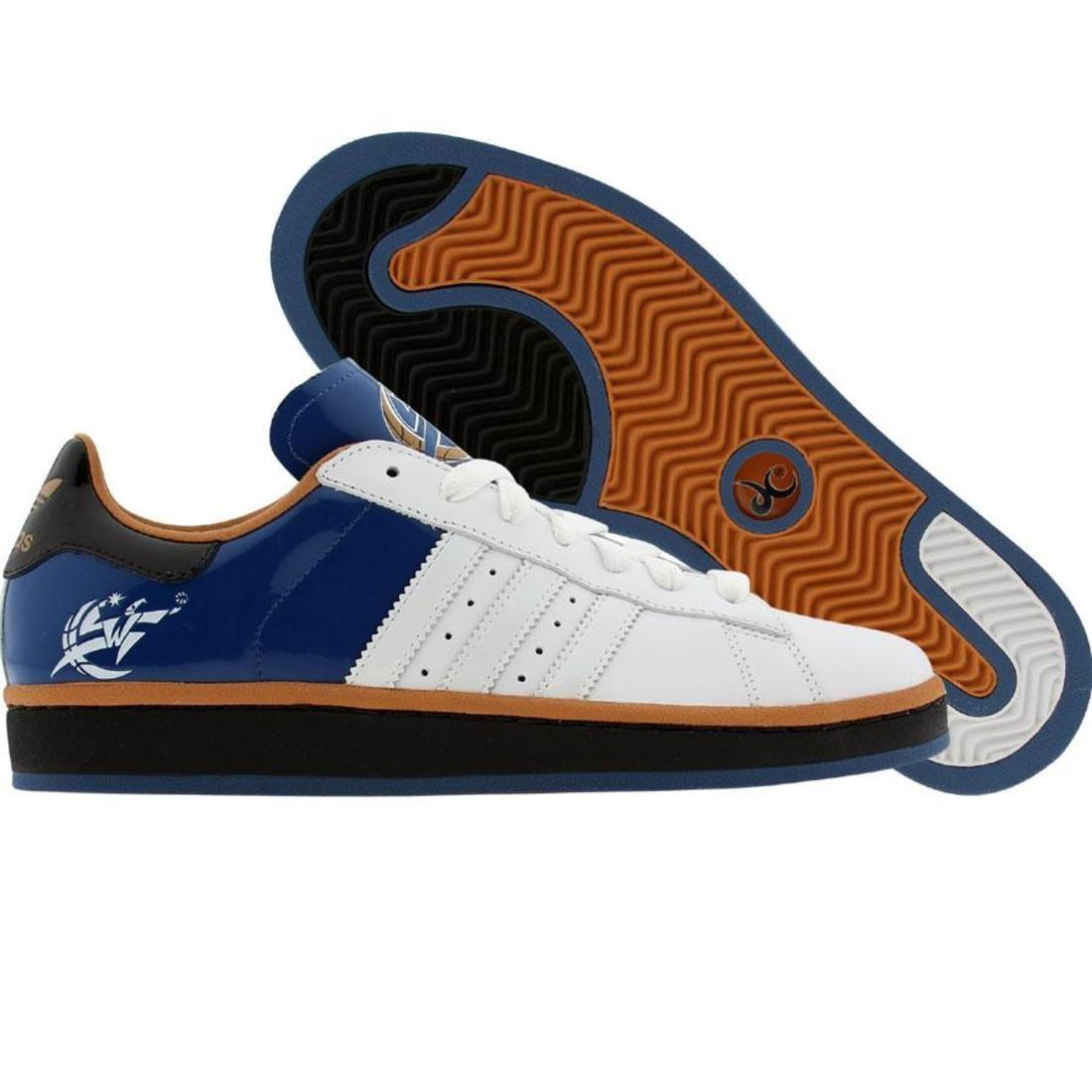 【海外限定】アディダス キャンパス 靴 スニーカー 【 ADIDAS CAMPUS II RUNWHITE BROSLD 】