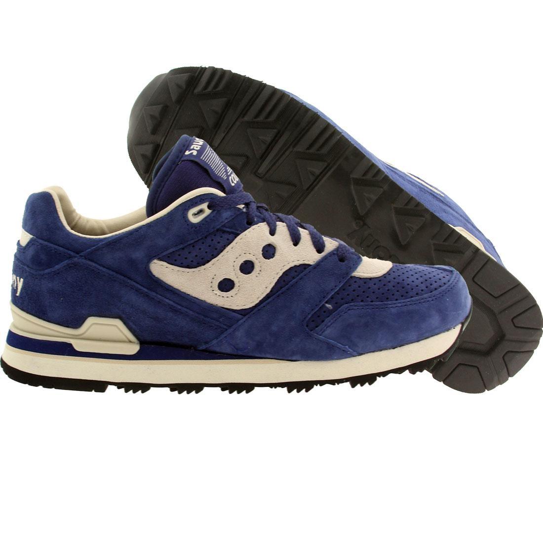 【海外限定】サッカニー スニーカー メンズ靴 【 SAUCONY MEN COURAGEOUS BLUE 】