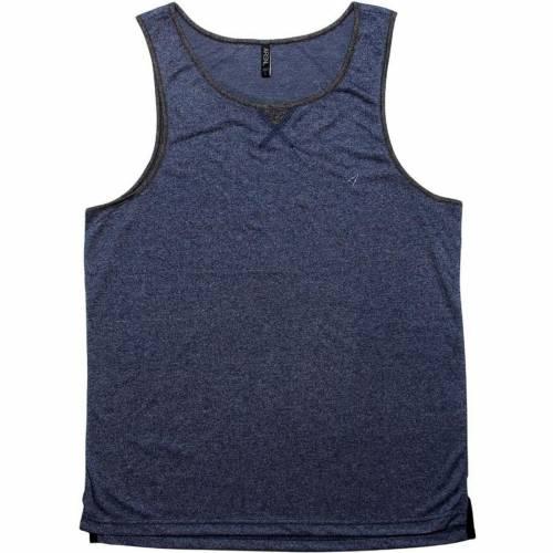 ファッションブランド カジュアル ファッション タンクトップ 紺色 ネイビー ARSNL 店 LAIDBACK メンズファッション トップス 新品 送料無料 SPECKLE NAVY