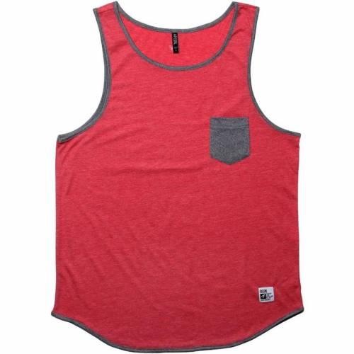 ファッションブランド ☆送料無料☆ 当日発送可能 カジュアル ファッション タンクトップ 赤 レッド ヘザー ZED ARSNL トップス HEATHER メンズファッション RED 大規模セール