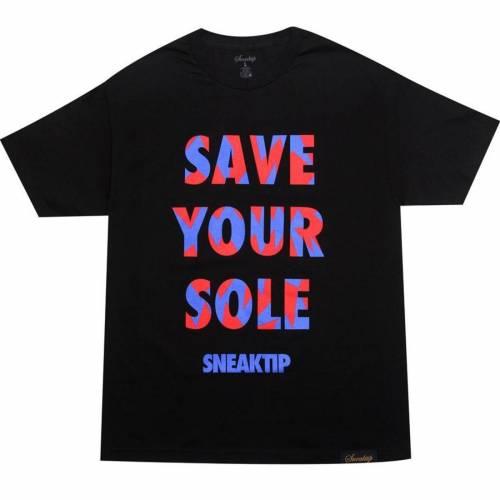 【中古】 スニークティップ SNEAKTIP スニークティップ Tシャツ 黒色 7 BLACK ブラック【 SNEAKTIP SAVE Tシャツ YOUR SOLE TEE RETRO 7 RAPTOR BLACK】 メンズファッション トップス Tシャツ カットソー, surou web shop:727ad172 --- kanvasma.com