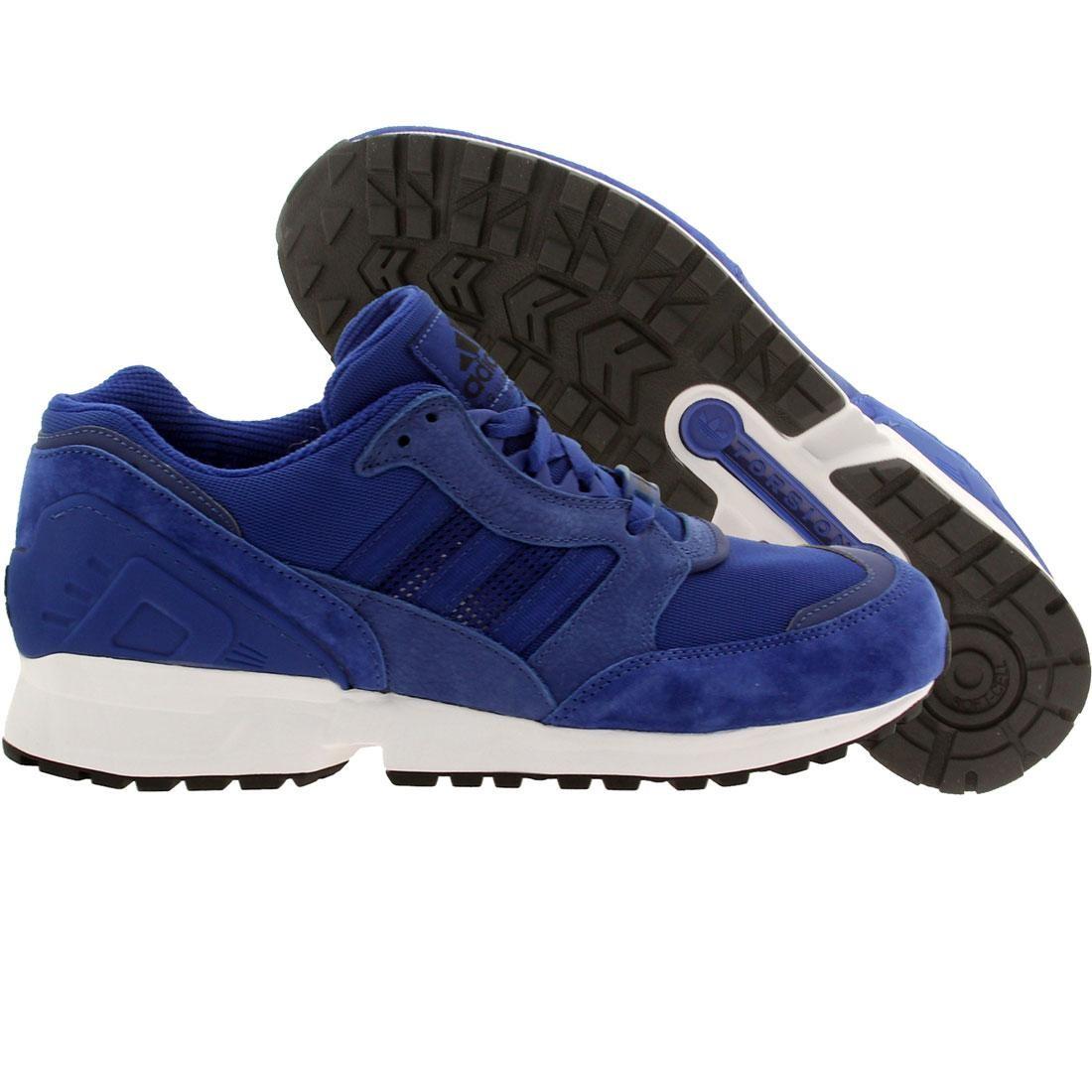 【海外限定】アディダス スニーカー 靴 【 ADIDAS MEN EQUIPMENT RUNNING CUSHION 91 BLUE CROYAL 】