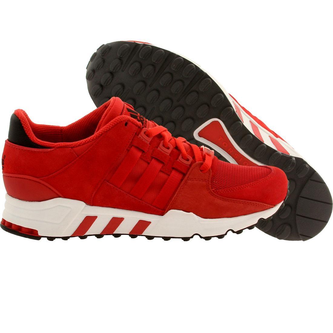 【海外限定】アディダス 靴 スニーカー 【 ADIDAS MEN EQUIPMENT RUNNING SUPPORT 93 RED SCARLET 】