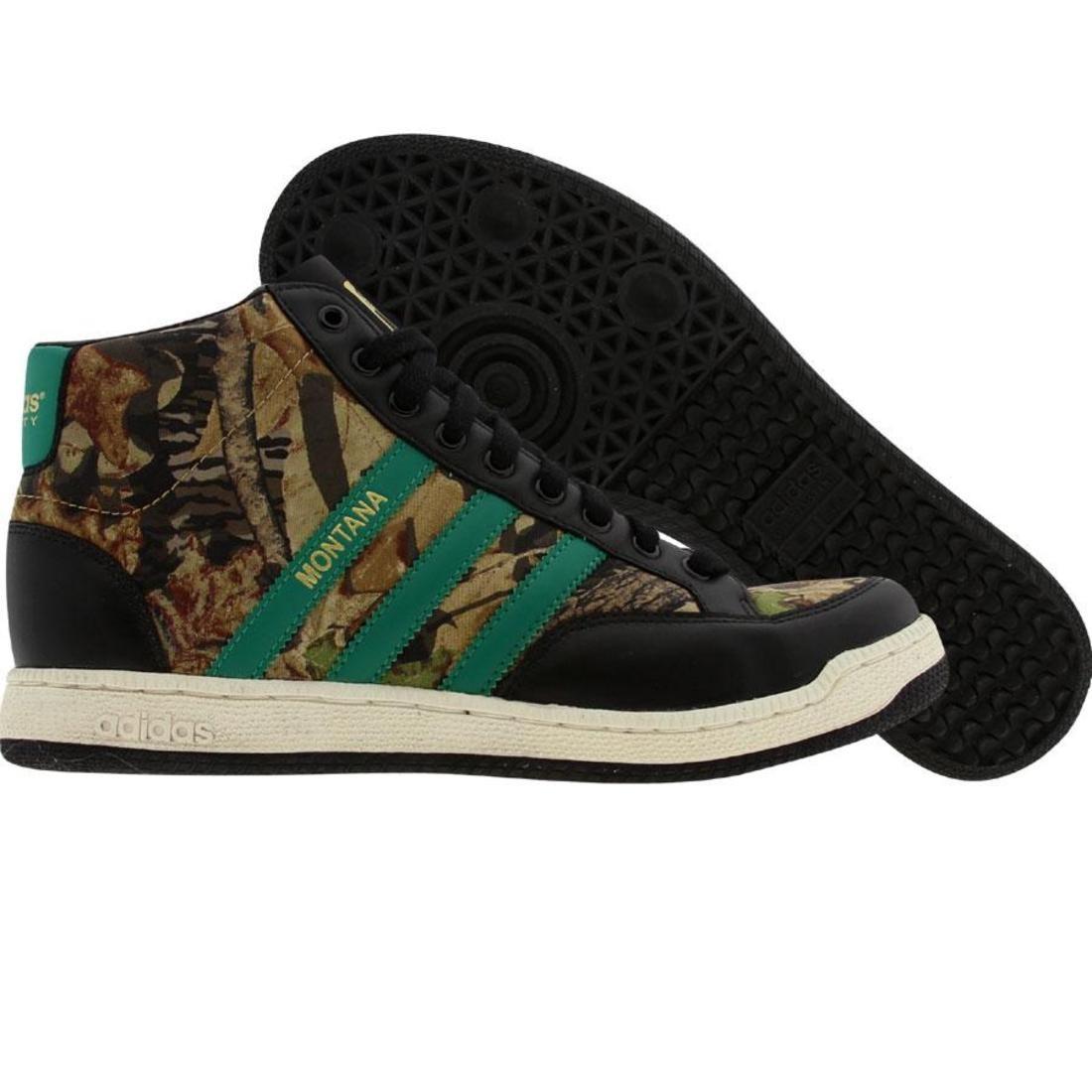 【海外限定】アディダス モンタナ スニーカー メンズ靴 【 ADIDAS MONTANA HI M BLACK TWGREE LEGACY 】