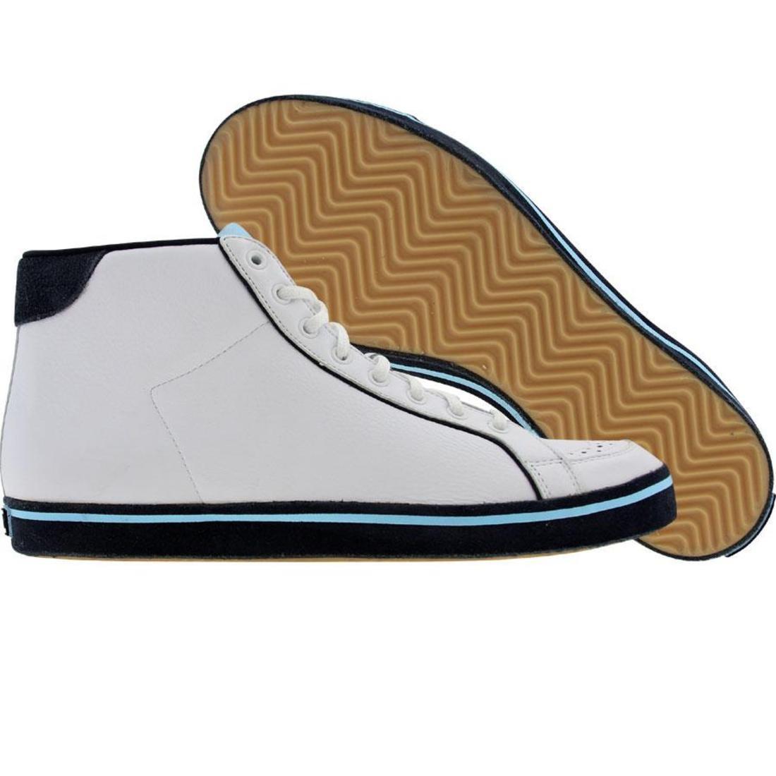【海外限定】アディダス ミッド 紺 ネイビー 靴 スニーカー 【 ADIDAS NAVY ROD LAVER VIN MID WHITE DARK ALTITUDE 】