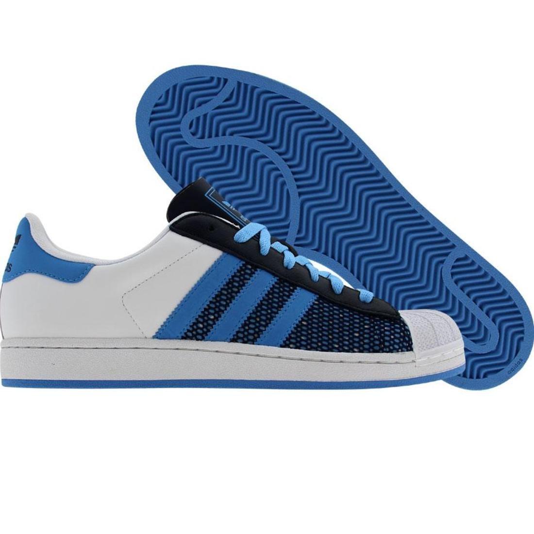 【海外限定】アディダス スーパースター カレッジ 青 ブルー メンズ靴 スニーカー 【 ADIDAS SUPERSTAR BLUE RUNNINWHITE COLLEGE NAVY 】
