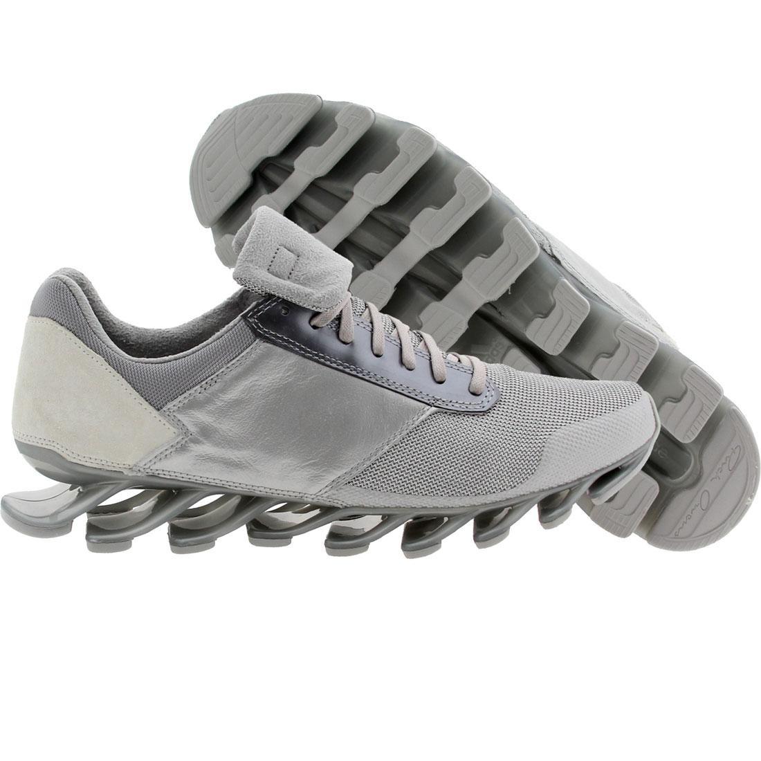 【海外限定】アディダス 銀色 シルバー メンズ靴 靴 【 ADIDAS SILVER X RICK OWENS MEN SPRINGBLADE LOW MET 】