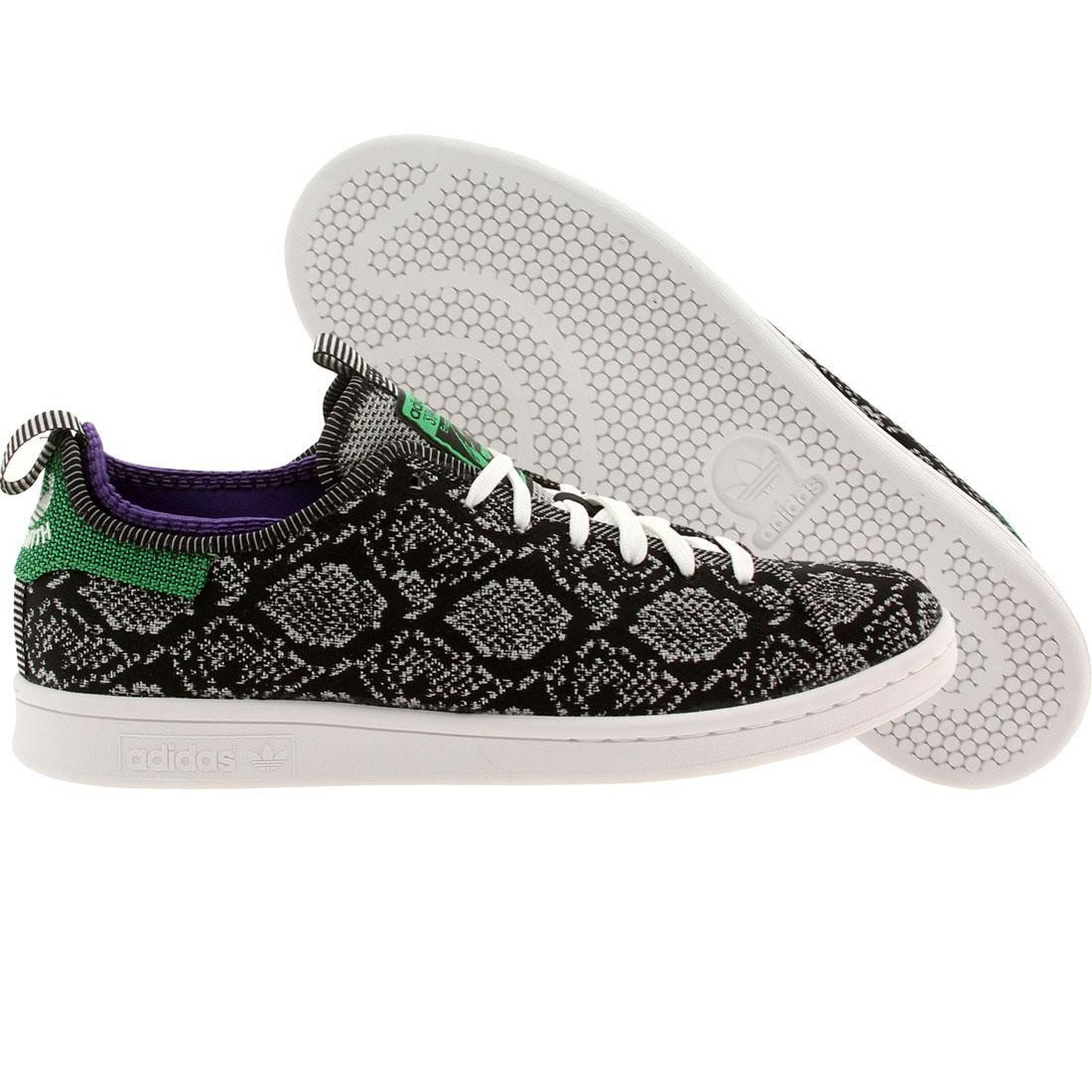 【海外限定】アディダス メンズ靴 靴 【 ADIDAS X CNCPTS MEN STAN SMITH EM BLACK CLONIX PURPLE 】