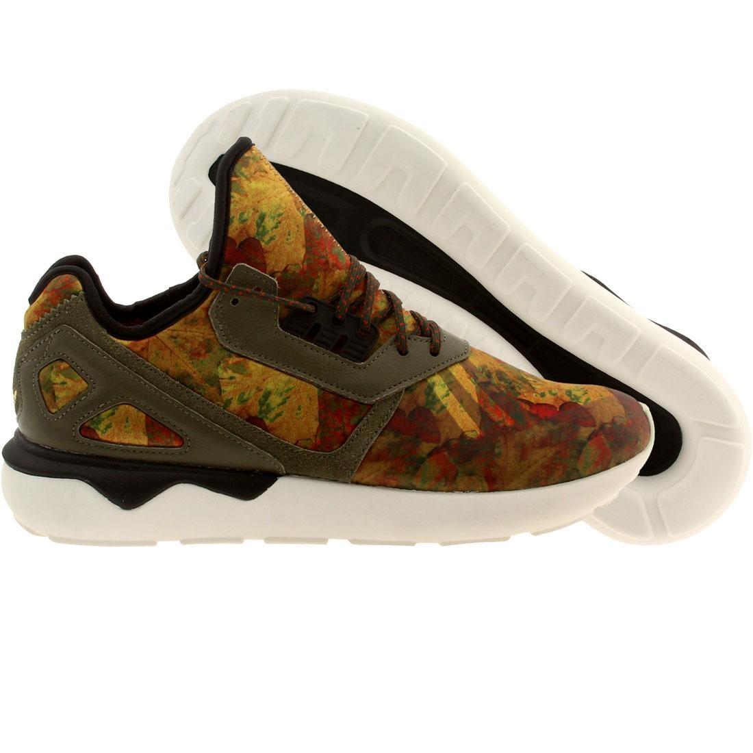 【海外限定】アディダス メンズ靴 スニーカー 【 ADIDAS MEN TUBULAR RUNNER LEAF CAMO RED DRKCAR FOXRED 】