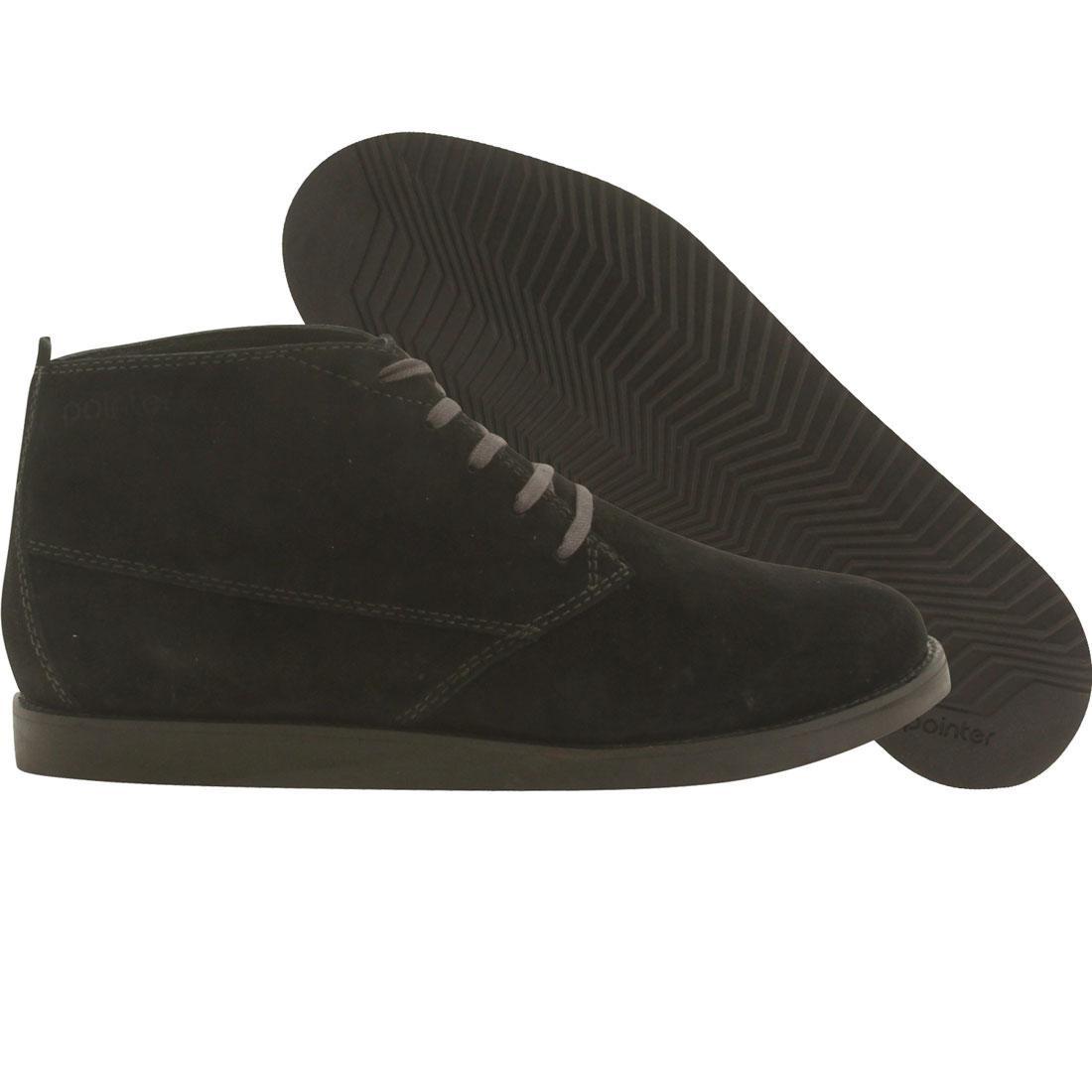 【海外限定】スニーカー 靴 【 POINTER MEN CYRIL BLACK JET 】