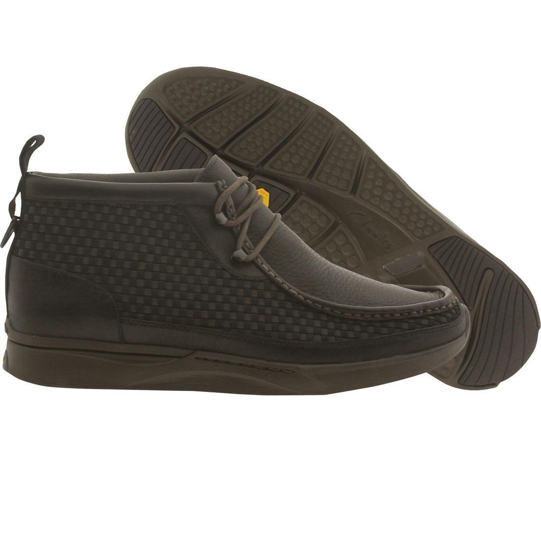 【海外限定】クラークス ステルス 靴 スニーカー 【 CLARKS MEN TAWYER STEALTH BLACK COMB 】
