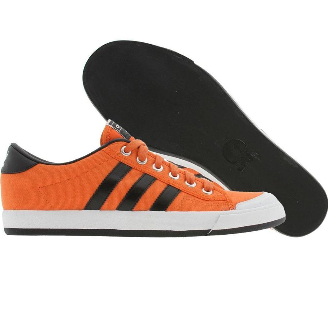【海外限定】アディダス テニス 黒 ブラック メンズ靴 靴 【 ADIDAS BLACK INDOOR TENNIS AMBER WHITE 】