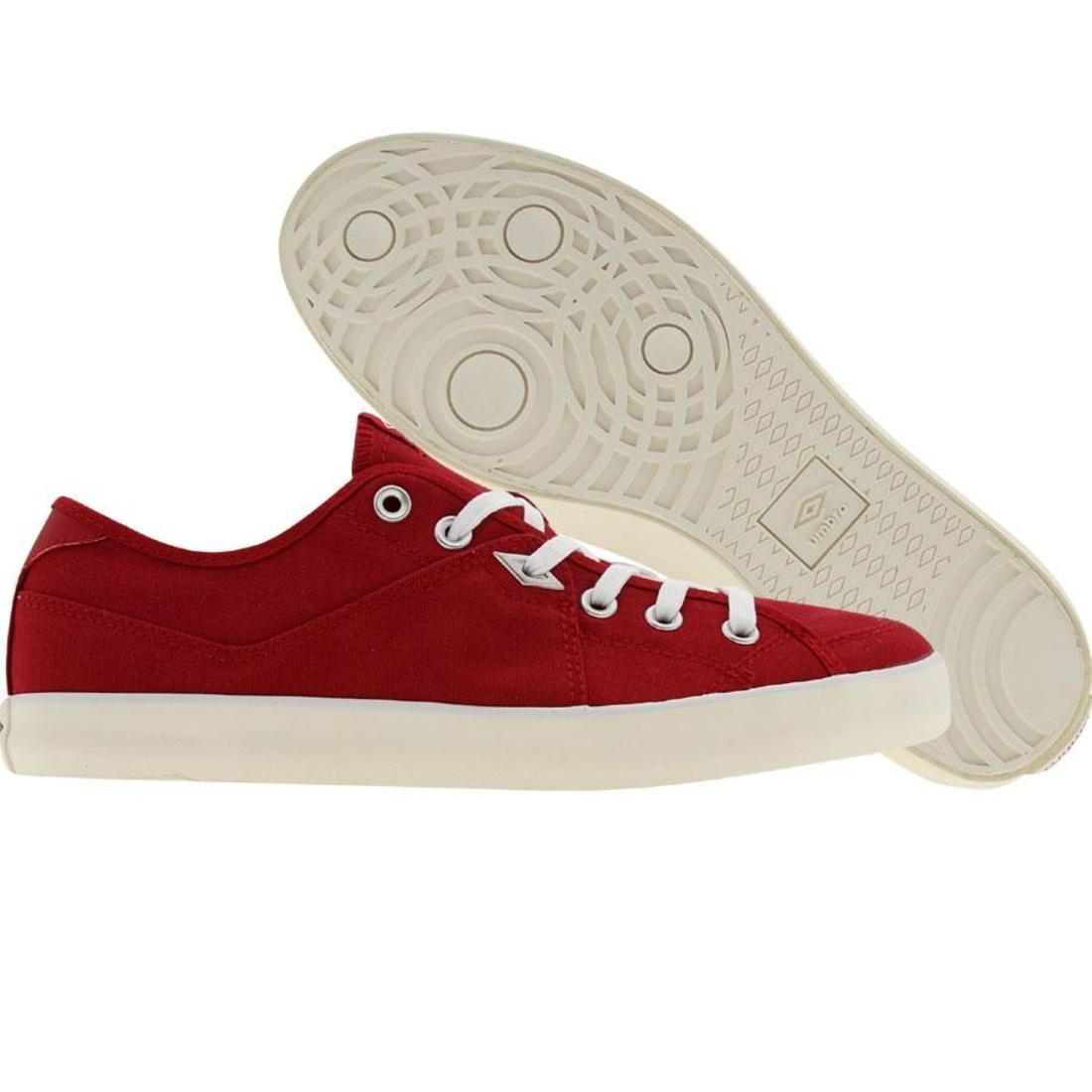 【海外限定】靴 スニーカー 【 UMBRO MILTON CANVASA RED 】