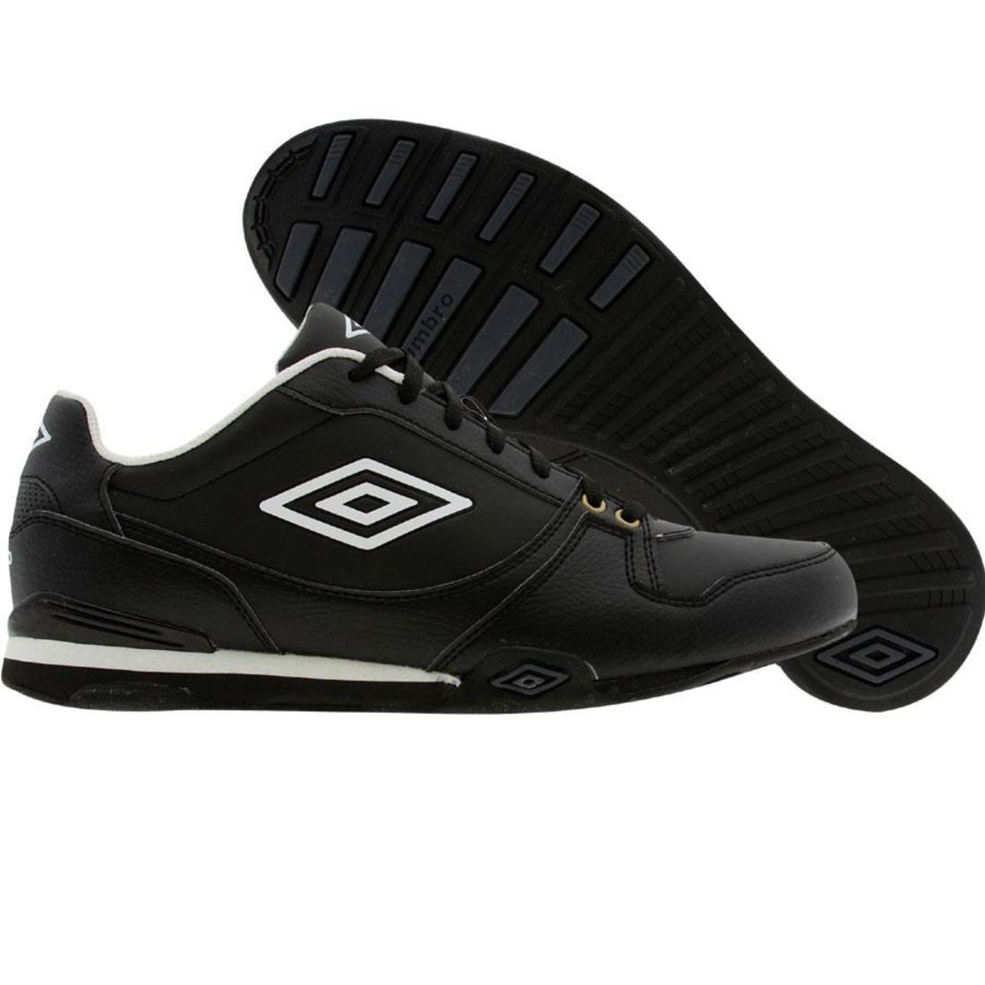 【海外限定】白 ホワイト メンズ靴 スニーカー 【 WHITE UMBRO GREMIO IIA BLACK GOLD 】