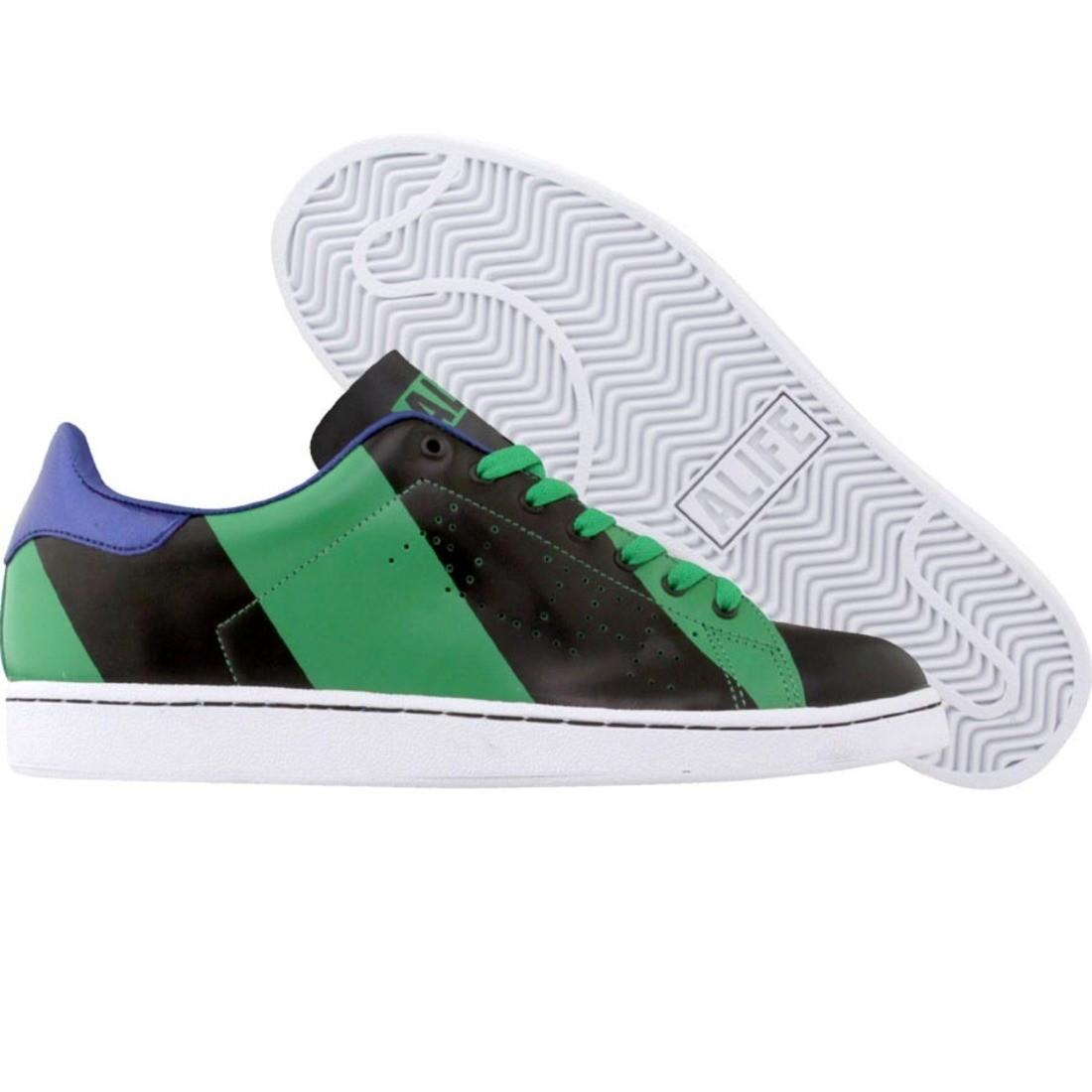 【海外限定】エーライフ カウント スニーカー 靴 【 ALIFE COURT CUP RGB GREEN 】