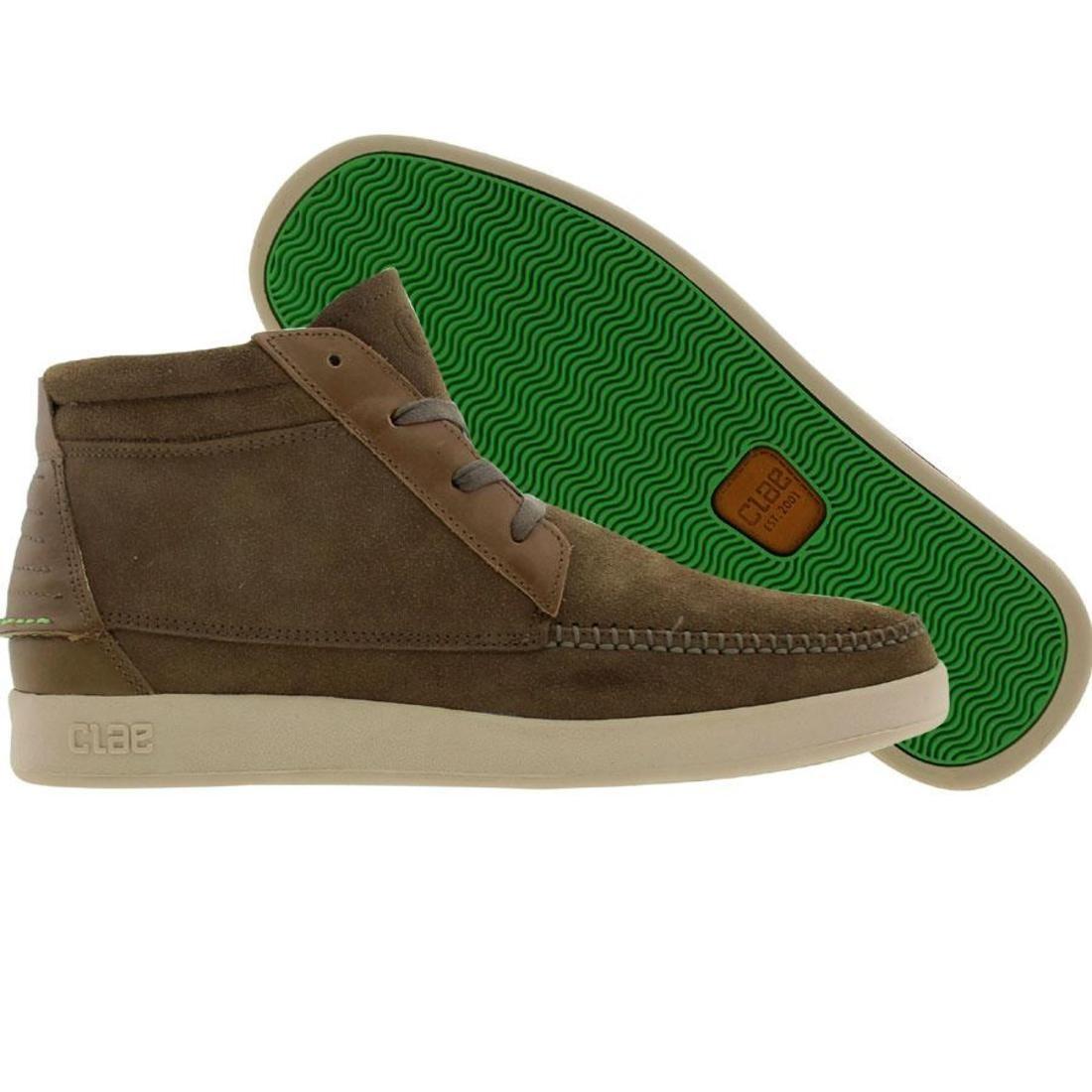 【海外限定】ハイ メンズ靴 靴 【 CLAE ROMARE HIGH LICHEN 】