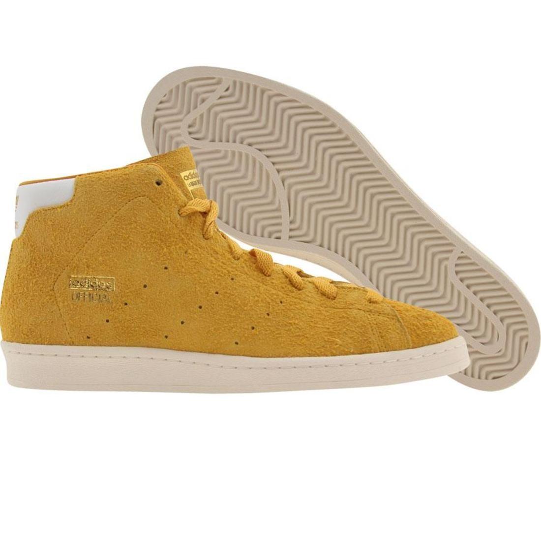 【海外限定】アディダス ミッド スニーカー 靴 【 ADIDAS OBYO OFFICIAL MID 80S DB COLLEGE GOLD RUNNINWHITE 】