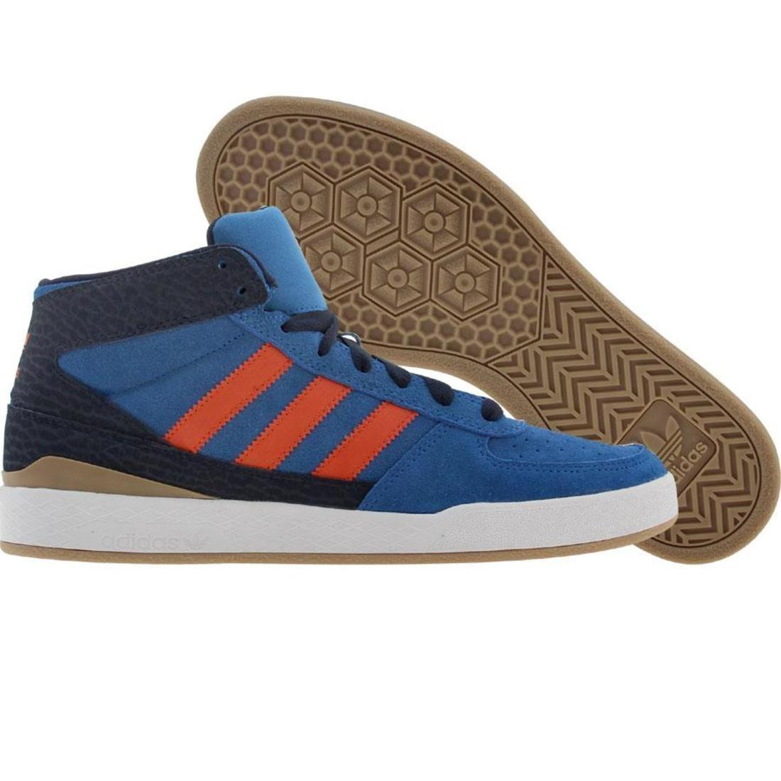 【海外限定】アディダス スケート フォーラム 橙 オレンジ カレッジ メンズ靴 靴 【 ADIDAS SKATE ORANGE FORUM X BLUEBIRD CRAYON COLLEGE NAVY 】