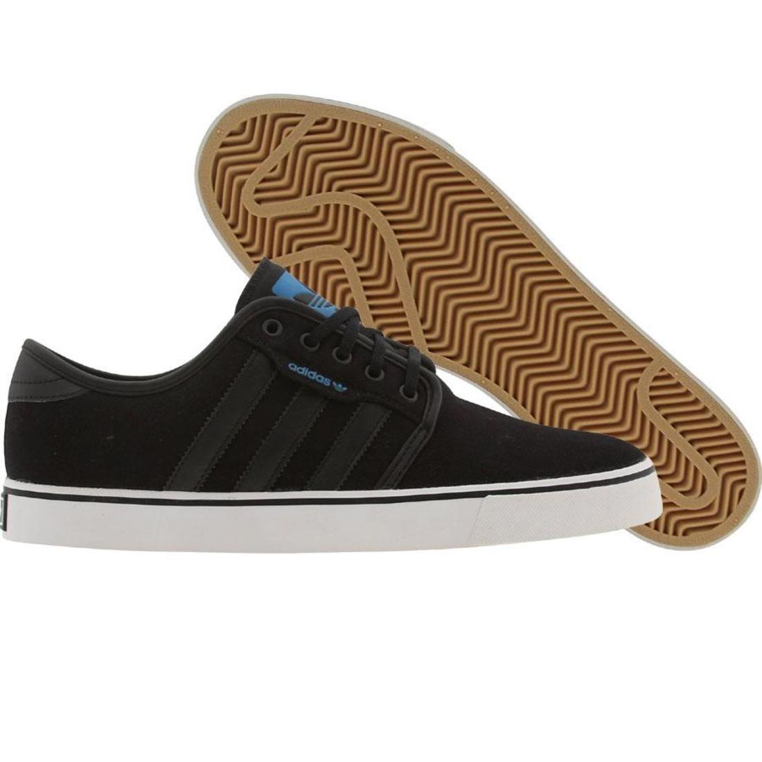 【海外限定】アディダス スケート メンズ靴 スニーカー 【 ADIDAS SKATE SEELEY BLACK CRAYON BLUE 】