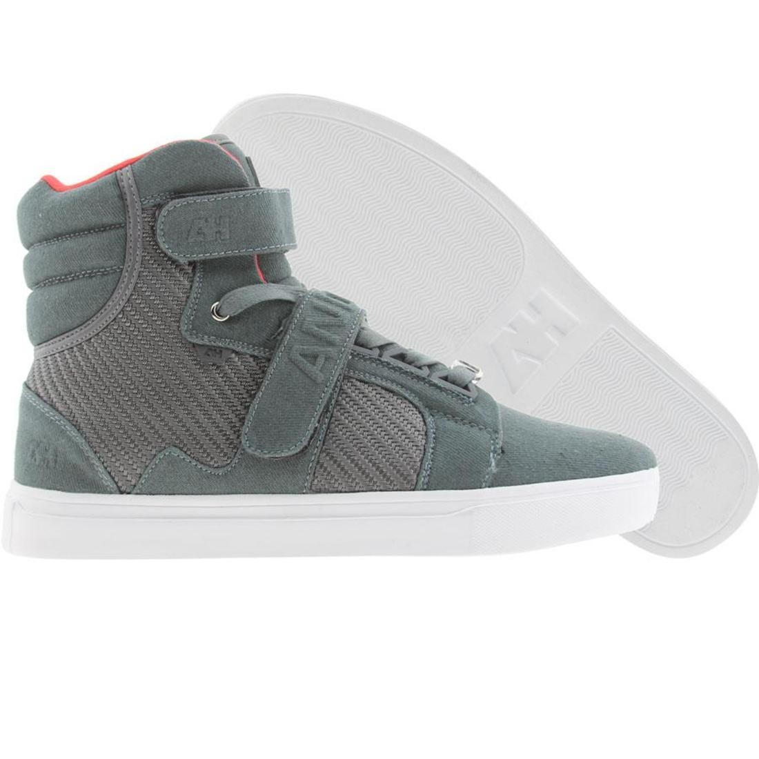 【海外限定】ハイ スニーカー メンズ靴 【 AH BY ANDROID HOMME PROPULSION HIGH GREY DENIM 】