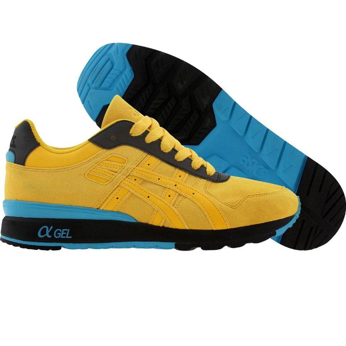 【海外限定】アシックス プレミアム 黄色 イエロー メンズ靴 靴 【 ASICS PREMIUM YELLOW BAIT X TIGER GTII 3M RINGS PACK RING BLACK 】