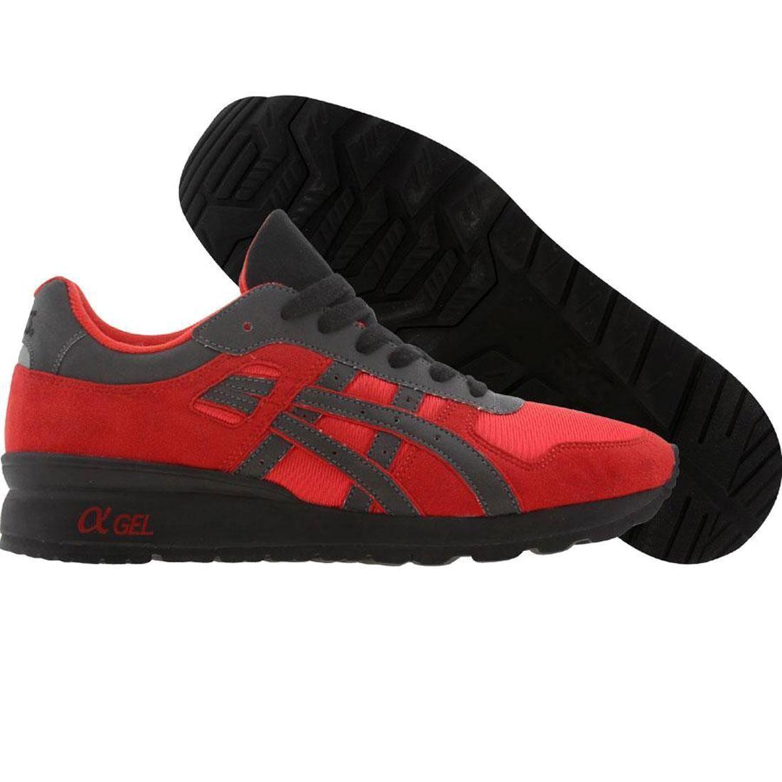 【海外限定】アシックス プレミアム 赤 レッド 靴 スニーカー 【 ASICS PREMIUM RED BAIT X TIGER GTII 3M RINGS PACK RING BLACK 】