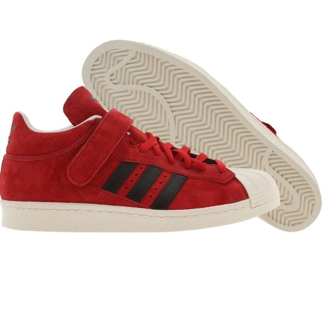 【海外限定】アディダス プロ シェル 赤 レッド 黒 ブラック メンズ靴 靴 【 ADIDAS SHELL RED BLACK PRO UNIVERSITY LEGACY 】