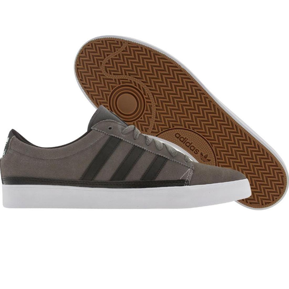 【海外限定】アディダス スケート 黒 ブラック 靴 メンズ靴 【 ADIDAS SKATE BLACK RAYADO LOW MEDIUM CINDER RUNNINWHITE 】