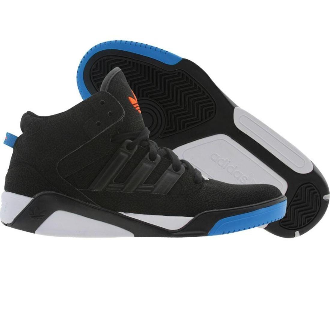 【海外限定】アディダス カウント 青 ブルー スニーカー 靴 【 ADIDAS BLUE COURT BLAZE LQC BLACK CRAYON WARNIN 】