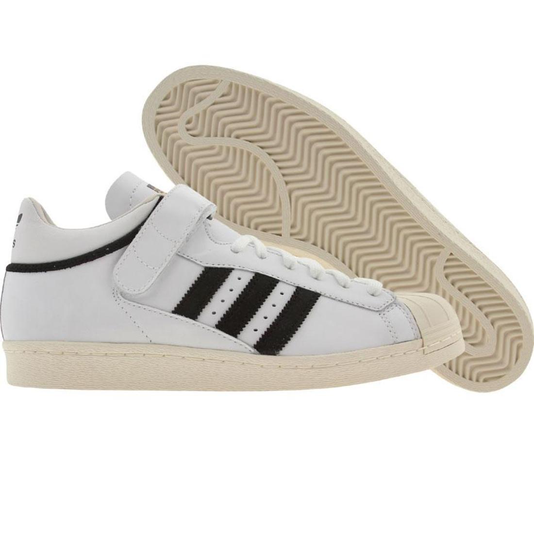 【海外限定】アディダス プロ シェル 黒 ブラック スニーカー メンズ靴 【 ADIDAS SHELL BLACK PRO WHITE CHALK 】