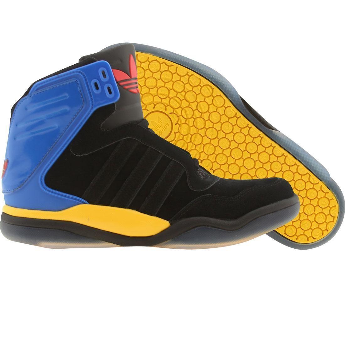 【海外限定】アディダス テック ストリート ミッド 靴 メンズ靴 【 ADIDAS STREET MEN TECH MID BLACK BLUEBIRD 】