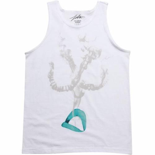 ファッションブランド カジュアル ファッション 即納最大半額 タンクトップ 白色 ホワイト トップス EXHALE メンズファッション WHITE JSLV 入荷予定 TEAL