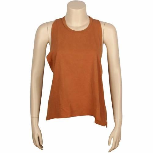 ファッションブランド カジュアル キャンペーンもお見逃しなく ファッション トップス 半袖 オベイ OBEY タンクトップ Tシャツ 茶色 WOMEN TANK ブラウン レディースファッション 人気ブレゼント! BROWN GINGER TEE DUSTY RIDER カットソー