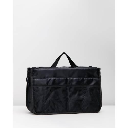ファッションブランド カジュアル ファッション お気にいる アクセサリー バッグ 黒色 ORGANISER BAG レディース BLACK ブラック 正規激安 PRENE