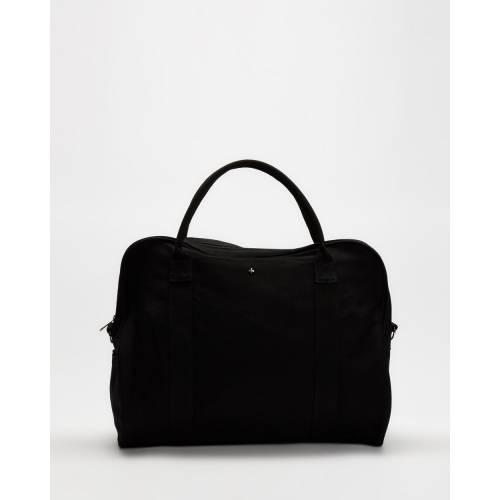 ファッションブランド カジュアル ファッション アクセサリー バッグ 黒色 ブラック レディース PETA TOTE CANVAS AL完売しました JAIN BAG BLACK LARGE AND SAYONORA 日本最大級の品揃え