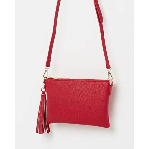 ファッションブランド カジュアル ファッション アクセサリー バッグ 赤 ランキングTOP5 レッド PETA RED レディース クロスボディーバッグ JAIN AND 推奨 KOURTNEY
