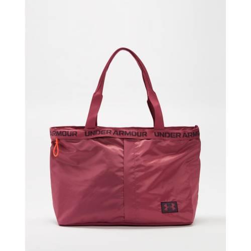 アンダーアーマー カジュアル ファッション アクセサリー UNDER セール特別価格 大幅値下げランキング ARMOUR ピンク 紫 PURPLE PINK TOTE POLARIS QUARTZ レディース ESSENTIALS パープル