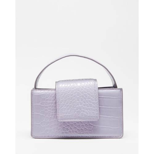 ファッションブランド 超特価SALE開催 カジュアル ファッション アクセサリー バッグ 紫 パープル BAG !超美品再入荷品質至上! PASTEL URSULA レディース MNG PURPLE