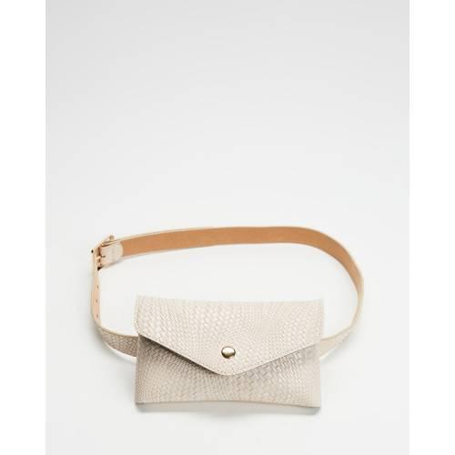 ファッションブランド カジュアル ファッション アクセサリー ハニー バッグ ベルト 買取 ベージュ レディース HONEY ストア BAG BEAU BELT BEIGE AND