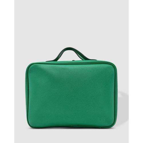ファッションブランド お求めやすく価格改定 カジュアル ファッション アクセサリー ケース 緑 グリーン EMMA CASE レディース GREEN LOUENHIDE 低価格化 COSMETIC